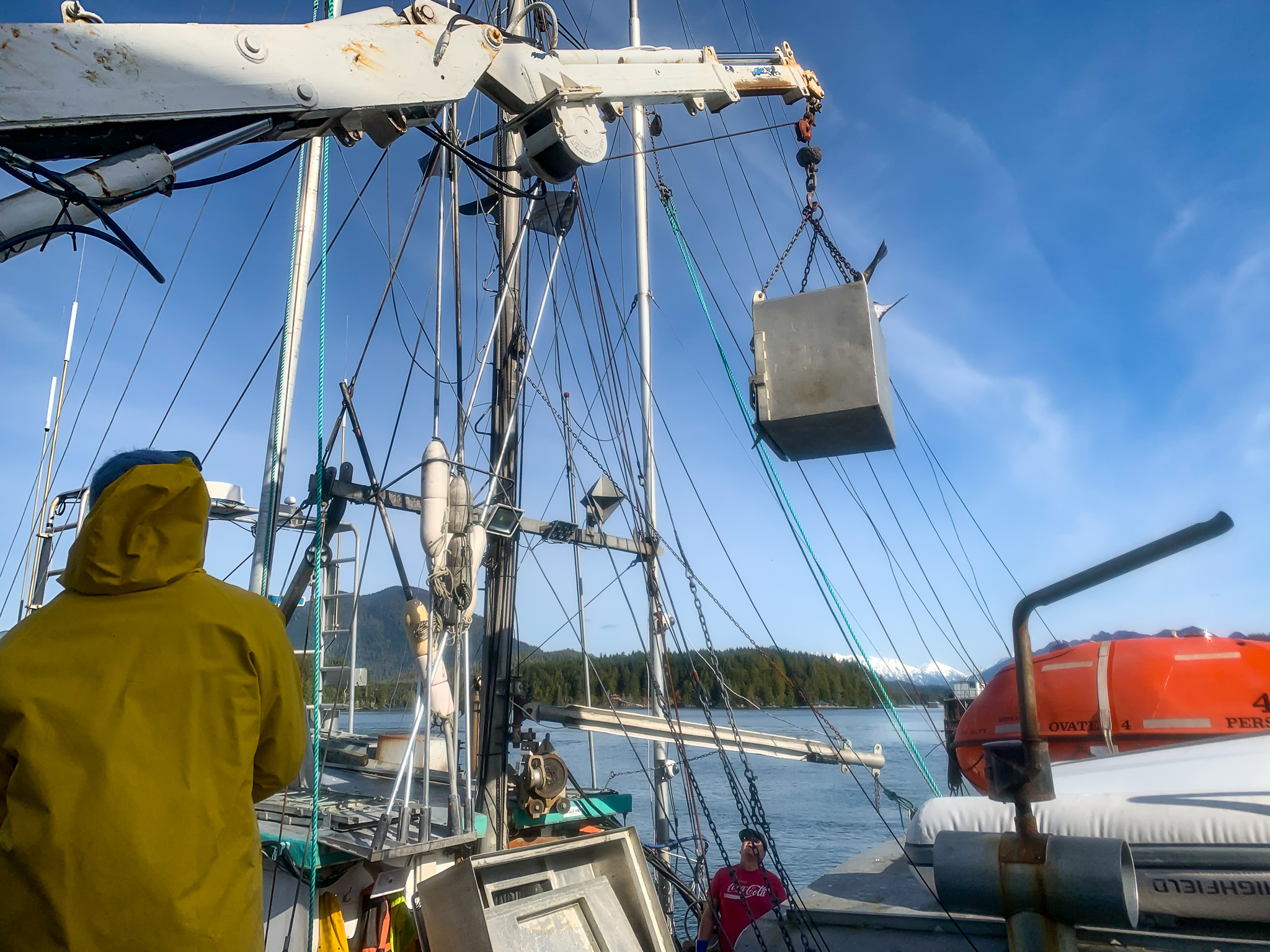Halibut offloading in Tofino, BC (Ecotrust Canada photo)