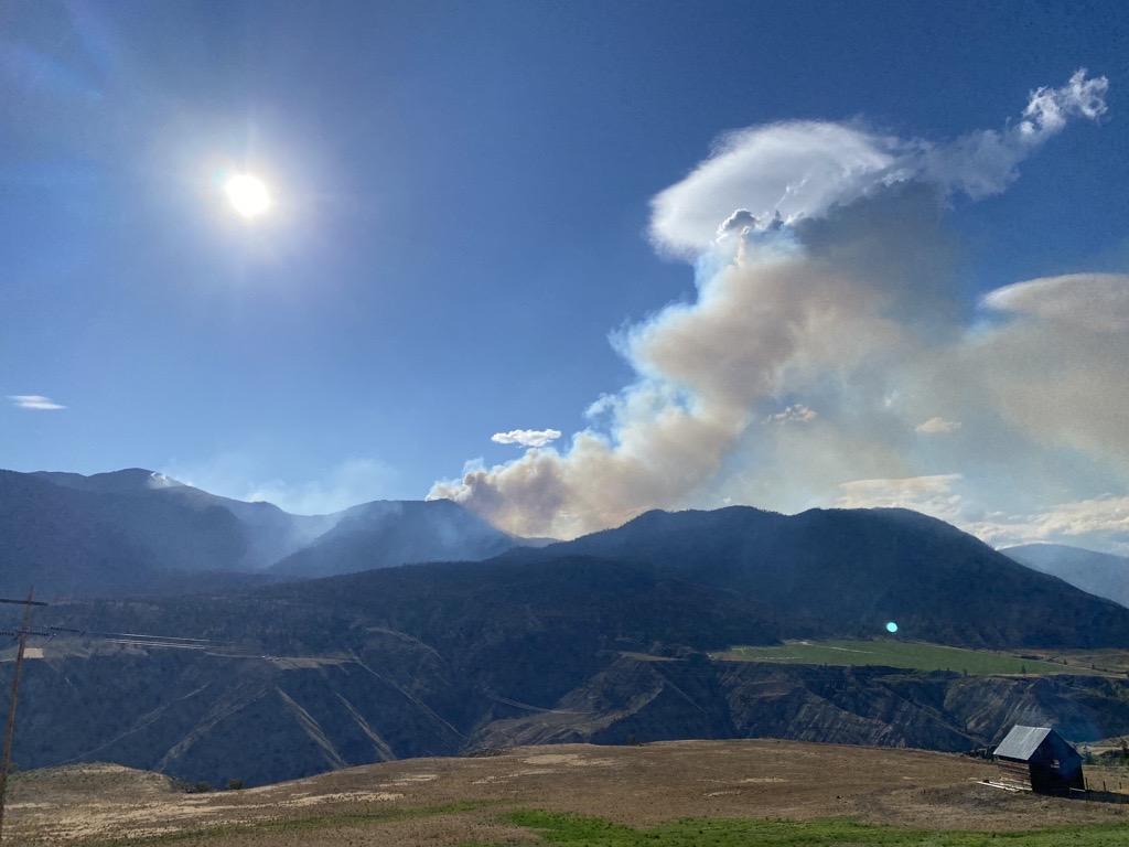 McKay Creek Wildfire, July 2021, Ayden Harrison photo